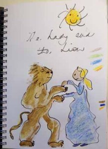 Brothers Grimm The Lady and the Lion